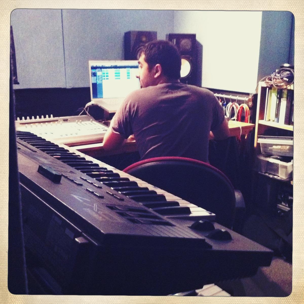 Umair Chaudhry at Silver Street Studios