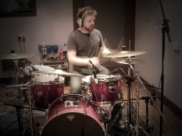 Kill Murray Recording Drums at Silver Street Studios