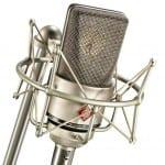 world class Neumann Vocal Mic