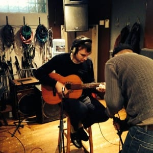 Recording Simple Things-In The Studio - Silver Street Studios (2)