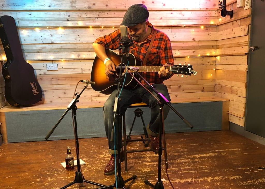 Jack Cade - ITSLive live video at Silver Street Studios